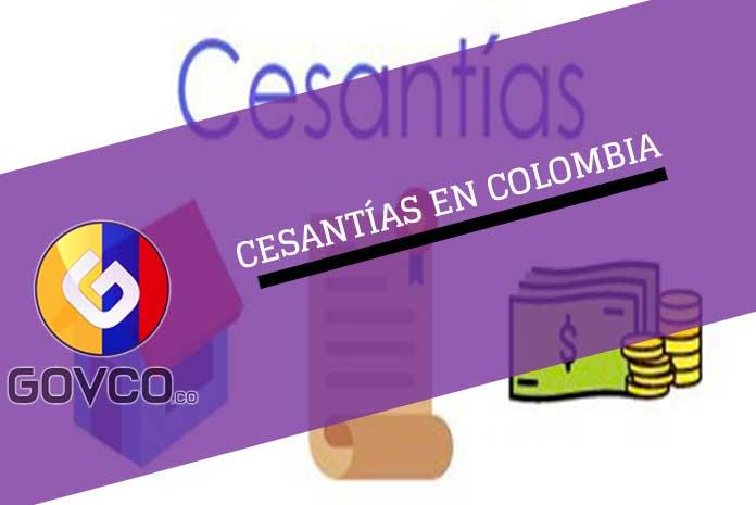cesantías en colombia
