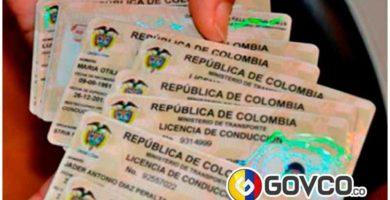 licencia de conducir en colombia govco