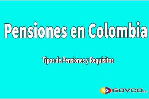 pensiones en Colombia govco.co