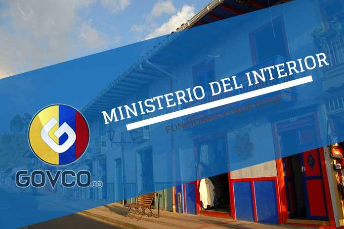Ministerio del Interior en Colombia