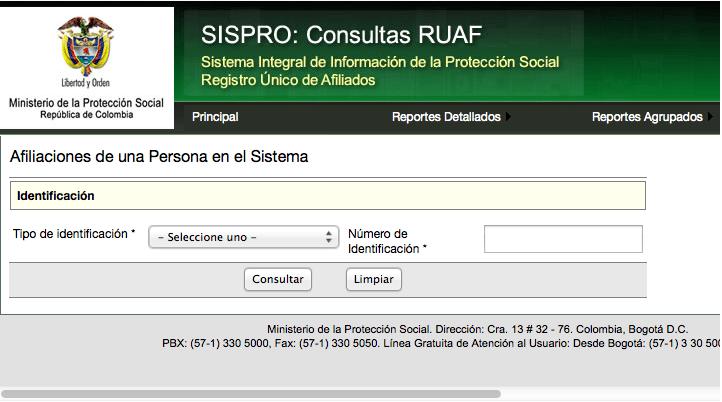 CONSULTAR-SISPRO-Ruaf