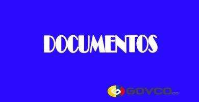 documentos en colombia