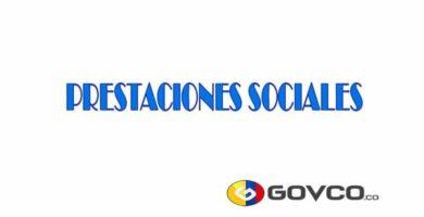 prestaciones sociales govco
