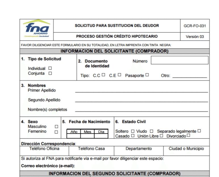 solicitud-unica-para-sustitucion-del-deudor-fna-fondo-nacional-del-ahorro-en-colombia